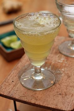 Pineapple-Ginger Sparkling Wine Cocktail
