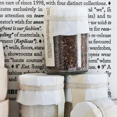 Fun pepper mixes, love the labels would be great for recipe jar gifts x