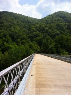 Bridge over the New River at Stone Cliff. Just south of Thurmond, WV