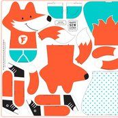 This little fox pattern is too cute!