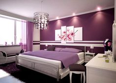 wall colors, guest bedrooms, dream hous, purple rooms, master bedrooms, dream bedrooms, guest rooms, purple bedrooms, dream rooms