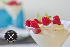 The Best White Chocolate Mousse with Summer Berries