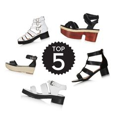 It's all about stand out sandals this season! Take on good-time footwear with our top selection.
