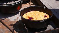 cherri cobbler, cobbler recip, campfir cook