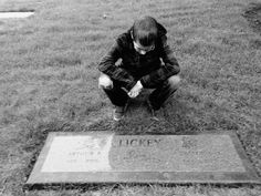 My son visiting his great grandparents.
