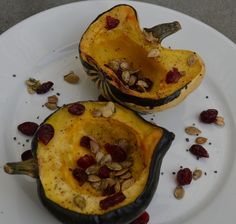 Roasted Squash via @Jackie Ourman
