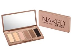Urban Decay Naked Eye Basics ($27) gives you six takes on nude to make a variety subtle eye looks. #eyeshadow #makeup