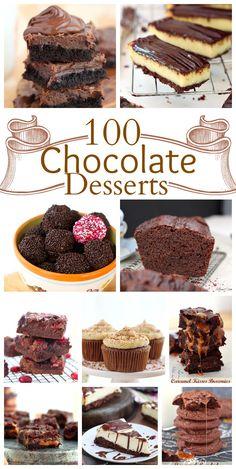 100 scrumptious chocolate desserts