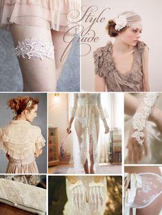 Wedding Lace inspiration board...