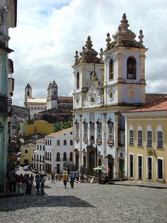 Historic Salvador, Bahia, Brasil--- I cannot explain why but the historical and cultural environment of Salvador, Brasil is the reason why I want to visit here first, before Rio and São Paulo...