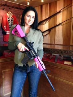 Pink AR-15