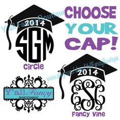 Monogram Graduation Tees!!! https://www.etsy.com/listing/184790849/monogrammed-graduation-comfort-colors