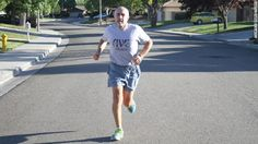 """16,075 consecutive days of running! Love the quote: """"I tell people the trees pass me by real slow now, but that's OK."""""""
