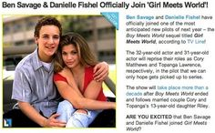 I cannot wait!!!!!  I hope it's just as good as boy meets world!!