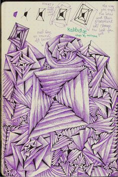 Kabbidge - New Pattern from Life Imitates Doodles