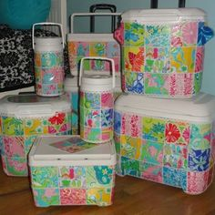 Lilly coolers!