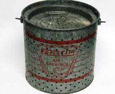 old minnow bucket