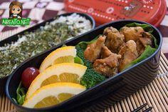 Low Budget Bentos: Furikake Chicken for Three