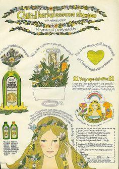 Clairol Herbal Essence Shampoo....love this ad...loved this shampoo.