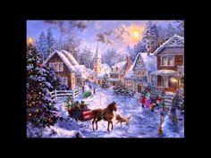 """Walking In A Winter Wonderland"" -DEAN MARTIN (Best Christmas Songs/Carols/Choir/Movies/Music Hits) Christmas Present:Puzzle 2011 Framed & on the wall at Christmas!!"