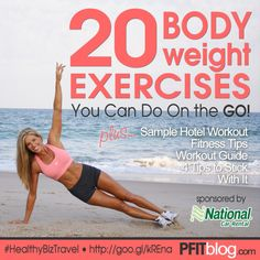 20 Bodyweight Exercises