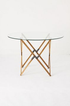"""Truss Cafe Table  42"""""""