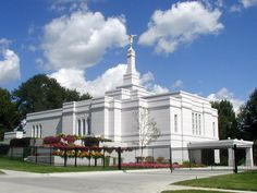 Click to enlarge this image of the Winter Quarters Nebraska Mormon Temple