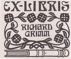 wood print, ethel larcomb, sew stitch, nouveau font, stitch thought, art nouveau