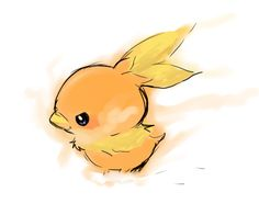 Torchic// I'm really excited for Omega Ruby and Alpha Sapphire! I plan on using a Torchic.