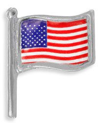 Veteran-Made American Flag Pin at The Veterans Site