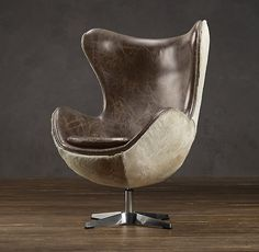 """""""1950S COPENHAGEN CHAIR HAIR-ON-HIDE BACK"""" - One day you will be mine... oh yes..."""