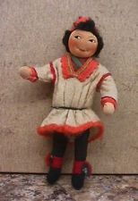 Vintage NM 1930s Ronnaug Petterssen Boy Doll w Kimport tag - Norway