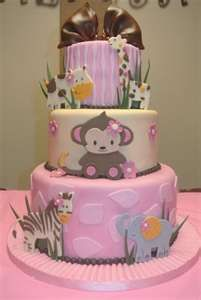 Such a cute baby shower cake!! Love it:)   I HAVE MORE CAKES ON MY SPECIAL OCCASION CAKES Board. Or baby's 1st b'day.