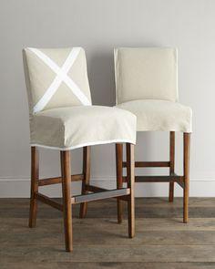 Barstool Slipcovers On Pinterest Slipcovers Chair