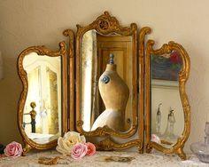 Brocante mirror