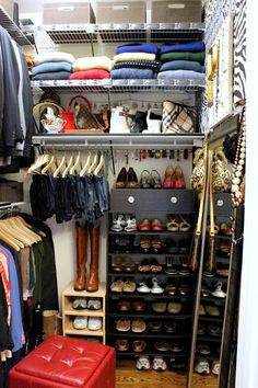 Even a small closet can be amazing