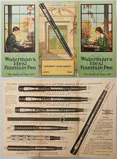 Waterman's Ideal Fountain Pen