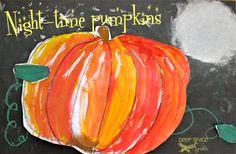 Nightime-Pumpkin-Art-Project