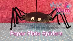 15 ideas for Halloween paper plate crafts