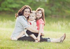 mom & children