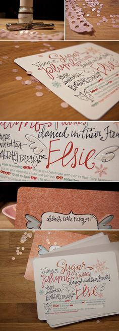 My favorite calligraphy, by Lindsay of Lindsay Letters dot com.