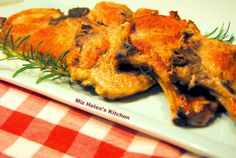Miz Helen's Country Cottage: Rosemary Skillet Chops