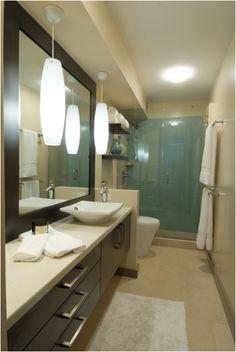 Mid-Century Modern Bathroom Design Ideas | Design Inspiration of Interior,room,and kitchen