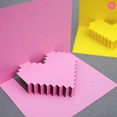 Love the 8-bit heart pop-up