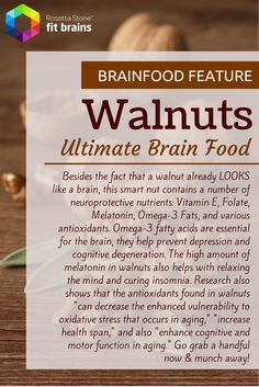 Brain #Food Feature: The Almighty Walnut! #health #diet #nutrition