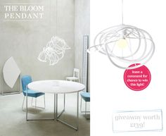 Ligne Roset lighting giveaway