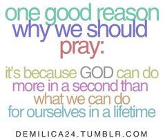 Reason to pray