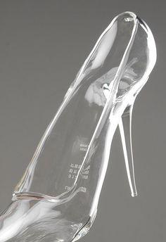 Cinderella's glass shoe by Maison Martin Margiela