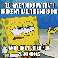 This is a really a serious matter though. Only we, #nailartjunkies, can understand. #thestruggle #nailmeme