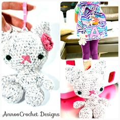 Backpack buddy free Tutorial By AnnooCrochet Designs